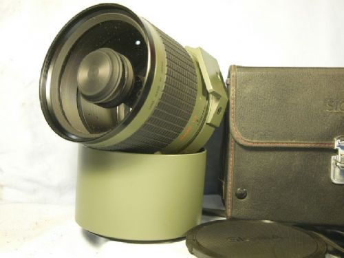 '     600mm -NICE SET-CASED-  '  Sigma 600mm F8 Minolta / Sony AF Fit Prime Supertele Lens c/w Hood + Inst + Case + Filters -NICE SET- £99.99